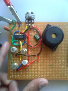 Himanshu's Ultrasonic Mosquito Repeller Prototype Circuit